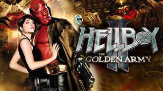 Netflix box art for Hellboy II: The Golden Army
