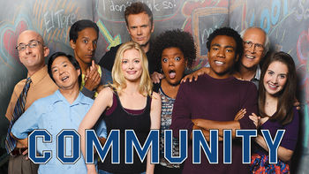 Netflix box art for Community - Season 1