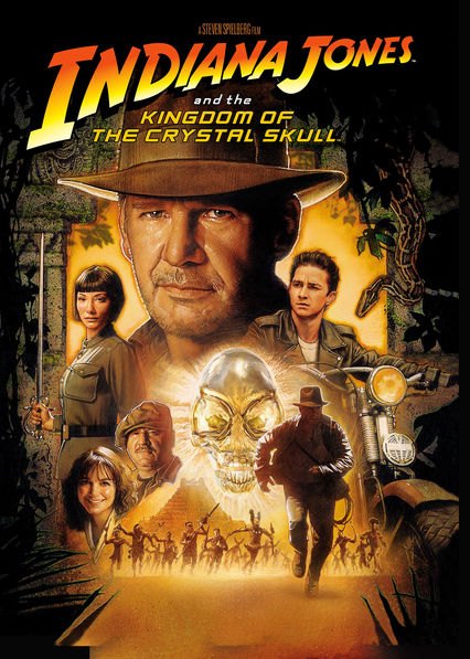 Indiana Jones and the Kingdom of the Crystal Skull Netflix BR (Brazil)