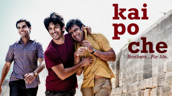 Netflix box art for Kai po che!