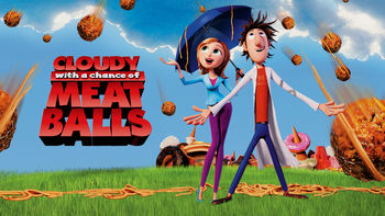 Netflix box art for Cloudy with a Chance of Meatballs