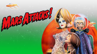 Netflix box art for Mars Attacks!