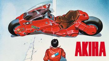 Netflix box art for Akira
