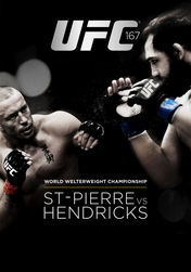 UFC 167: St-Pierre vs. Hendricks | filmes-netflix.blogspot.com.br