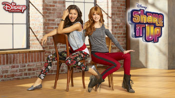 Netflix box art for Shake It Up - Season 2