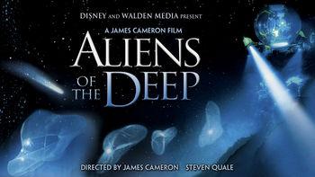 Netflix box art for Aliens of the Deep