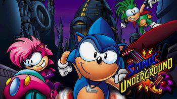 Netflix Box Art for Sonic Underground - Season 1