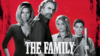 Netflix box art for The Family