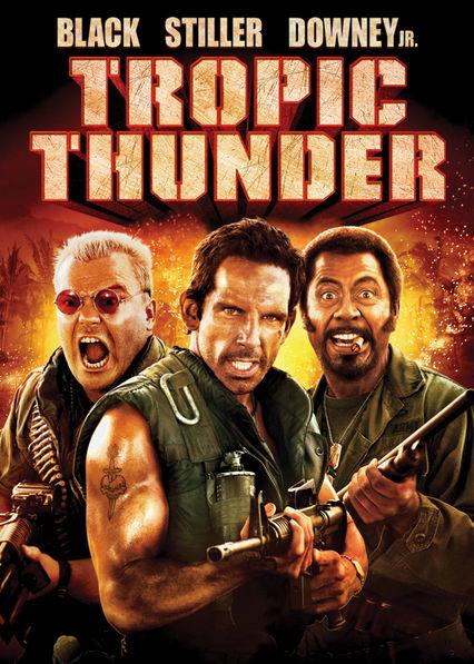 Tropic Thunder Netflix VE (Venezuela)