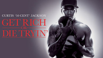 Netflix box art for Get Rich or Die Tryin'