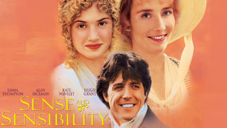 Sense and Sensibility (1995) on Netflix in Canada