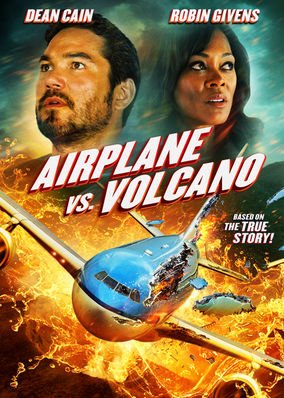 Netflix Box Art for Airplane vs. Volcano