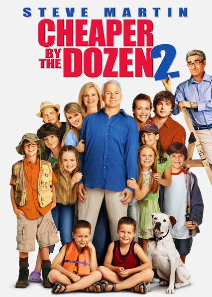 Cheaper by the Dozen 2 Netflix BR (Brazil)
