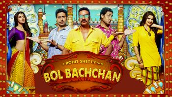 Netflix box art for Bol Bachchan