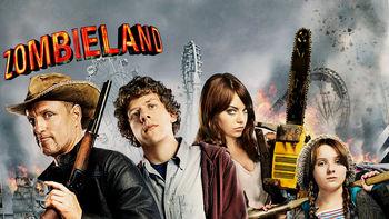 Netflix box art for Zombieland