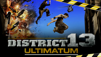 Netflix box art for District 13: Ultimatum