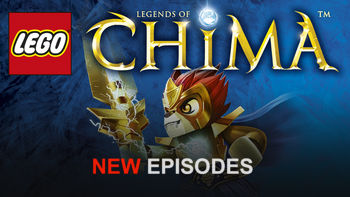 Netflix Box Art for LEGO: Legends of Chima - Season 2