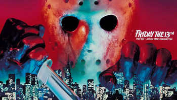 Netflix box art for Friday the 13th: Part 8