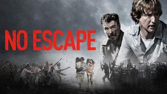 Netflix box art for No Escape