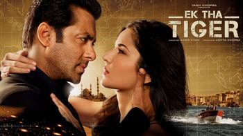 Netflix box art for Ek Tha Tiger