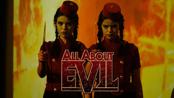Netflix box art for All About Evil