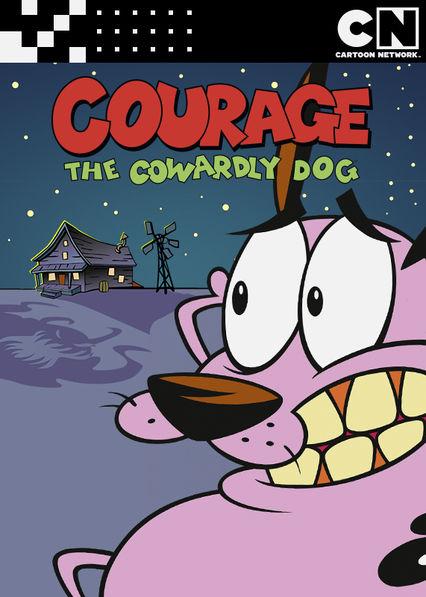 Courage the Cowardly Dog Netflix BR (Brazil)