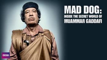 Netflix Brazil: Mad Dog: Secret World of Muammar Gaddafi is