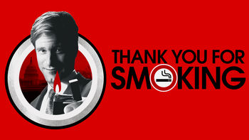 Netflix box art for Thank You for Smoking