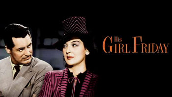 Netflix box art for His Girl Friday