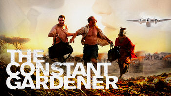 Netflix box art for The Constant Gardener