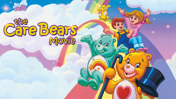 Netflix box art for The Care Bears Movie
