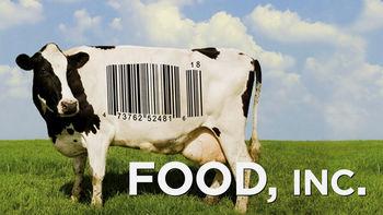 Netflix box art for Food, Inc.