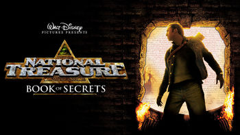 Netflix box art for National Treasure: Book of Secrets