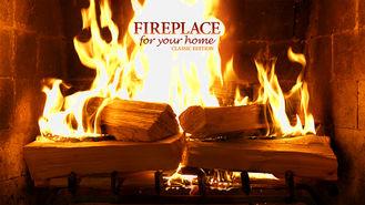 Netflix box art for Fireplace 4K: Classic Crackling Fireplace