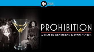 Netflix box art for Ken Burns: Prohibition - Season 1