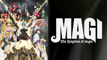 Netflix Box Art for Magi: The Kingdom of Magic - Season 1