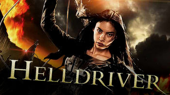 Netflix box art for Helldriver