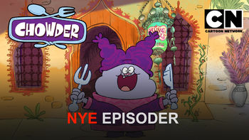 Netflix box art for Chowder - Season 3