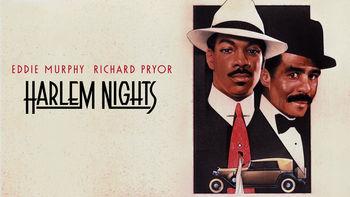 Netflix box art for Harlem Nights