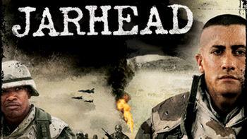 Netflix box art for Jarhead