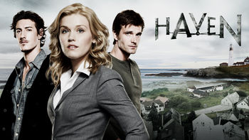 Netflix box art for Haven - Season 1