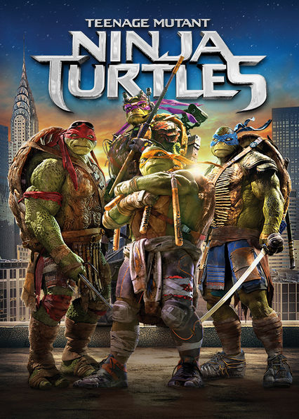 Teenage Mutant Ninja Turtles Netflix BR (Brazil)