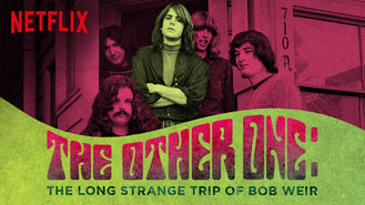 Netflix Box Art for Other One: ...Bob Weir, The