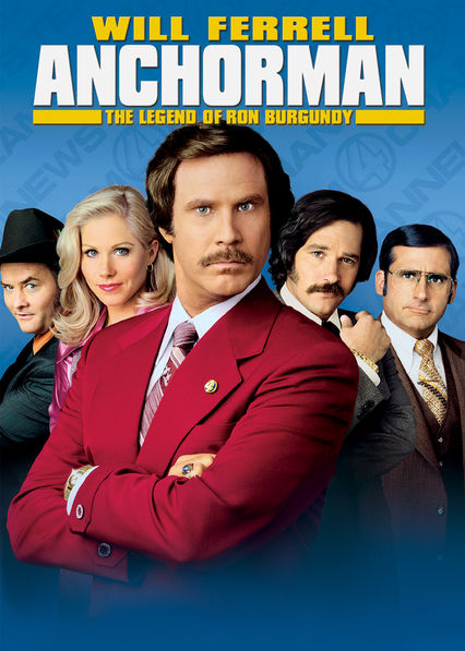 Anchorman: The Legend of Ron Burgundy Netflix BR (Brazil)