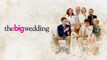 Netflix box art for The Big Wedding