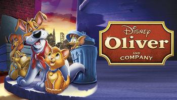 Netflix box art for Oliver & Company