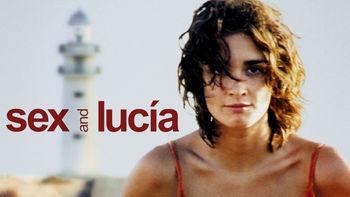 Netflix box art for Sex and Lucía
