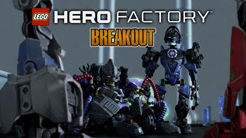 Netflix box art for LEGO: Hero Factory: Breakout