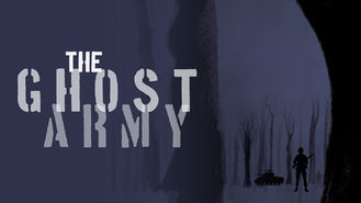 Netflix box art for The Ghost Army
