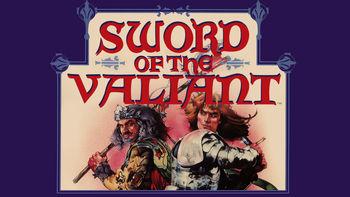 Netflix box art for Sword of the Valiant